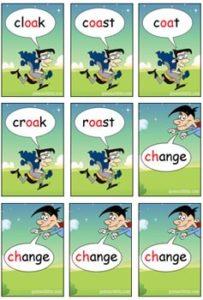 2 Vowels Walking Game