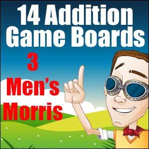 Addition Game 3 Men's Morris
