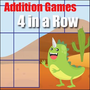 Addition Game - 2 Dice 4 in a Row