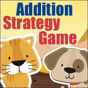 Addition Game Cats and Dogs
