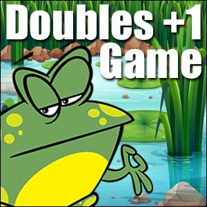 Addition Game Doubles Plus One Jump