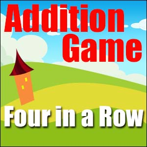 Addition Game - 4 in a Row