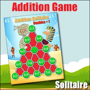 Addition Games Solitaire