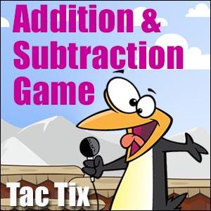 Addition Game Tac Tix
