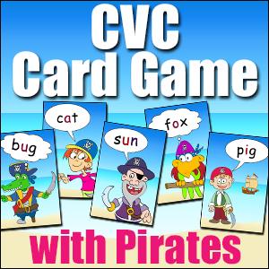 CVC Phonics Card Game