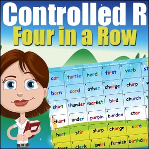 Free Reading Game - Controlled r