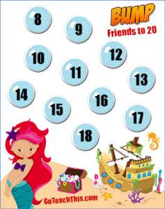 Mermaid Math Game