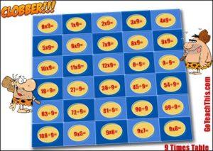 Multiplication & Division Games - Clobber