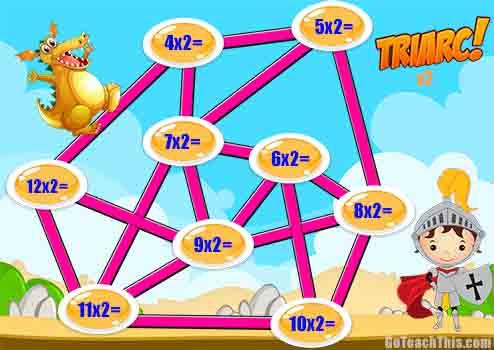 Multiplication Game - Triarc