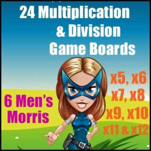 Multiplication & Division Games