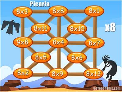 Multiplication Games - Printable