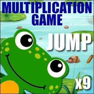 Multiplication Jump - Times 9