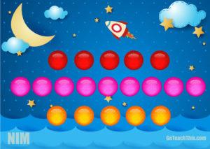 NIM Math - Strategy Game