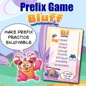 Prefix Card Game