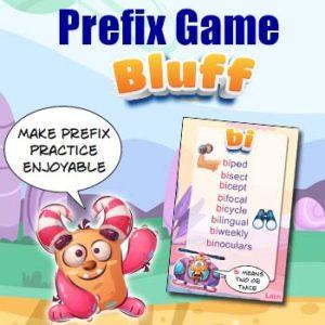 Prefix Practice Game