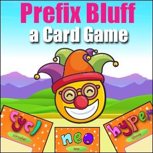 Prefix Game - Bluff