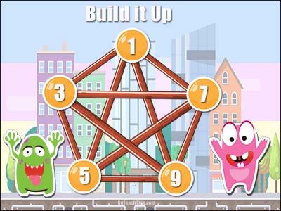 Addition Game - Build It Up