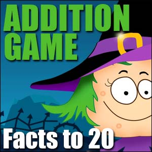 Addition Game - Facts to 20