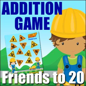 Addition Games - Bump Friends to 20