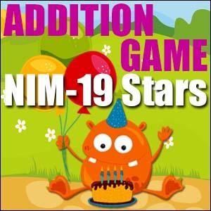 Addition Game - 19 Stars