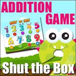 Addition Game - Shut the Box