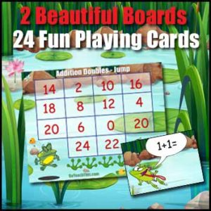 Addition Game Cards