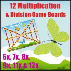Division Games & Multiplication Games
