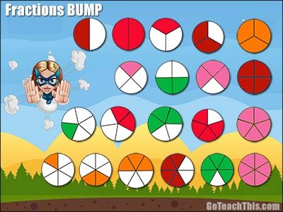 Fractions Game - Bump