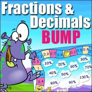 Fractions & Decimals - Bump