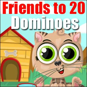friends to 20 dominoes
