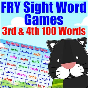 Fry Sight Word Games