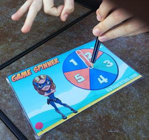 Game Spinner - Printable