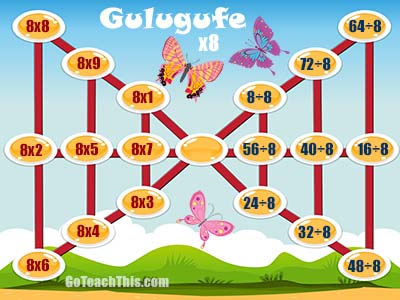 Games for Multiplication & Division