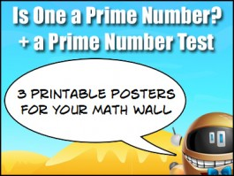is one a prime number