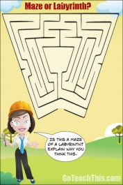 What is the Difference Between a Maze & a Labyrinth?
