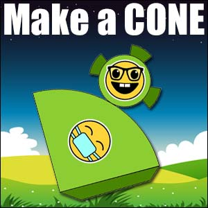 How to Make a Cone - 3d Net