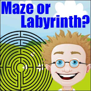 Difference Between a Maze & a Labyrinth?