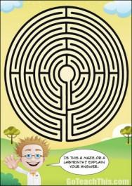 Is it a Maze? Is it a Labyrinth?