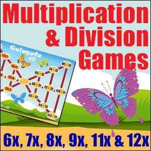 Multiplication & Division Game Game -