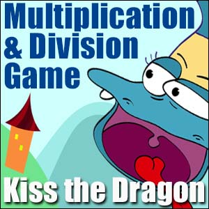 Multiplication & Division Game -Kiss the Dragon