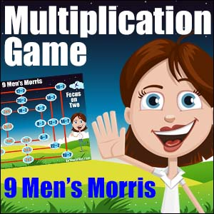 Multiplication & Division Games -Nine Men's Morris