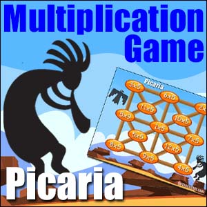 multiplication game picaria
