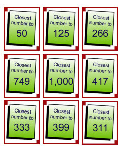 Numeration Card Game