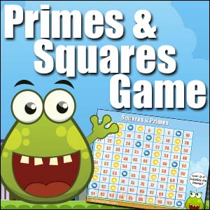 Prime Numbers & Square Numbers