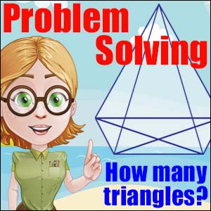 Problem Solving - How Many Triangles?