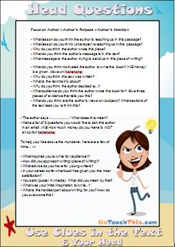 Reading Strategies - Comprehension
