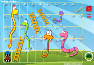 Snakes & Ladders - Video Game Version