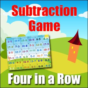 Subtraction Game - Four in a Row