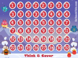 Think & Cover - a Game of Factors