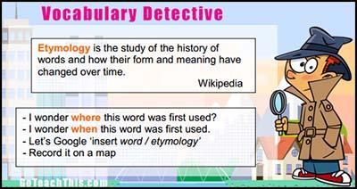 Vocabulary Building Strategy Cards